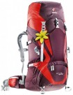 DEUTER ACT Lite 45 + 10 SL aubergine-fire 2015-16